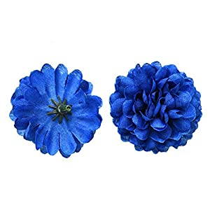 Monrocco 30pcs Artificial Carnation Flower Head Artificial Silk Hydrangea Flowers Mini Hydrangea Home Wedding Decoration DIY Fake Wreaths Festival Decor 93