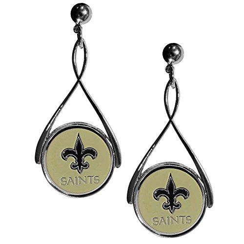 Primary Logo Earrings (NFL New Orleans Saints Tear Drop Earrings)