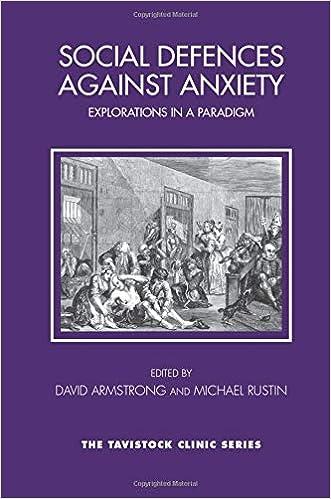 Social Defences Against Anxiety (Tavistock Clinic Series): Amazon co