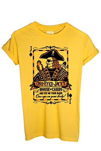 T-Shirt One Eyed Jacks House Of Cards - Poker By Mush Dress Your Style