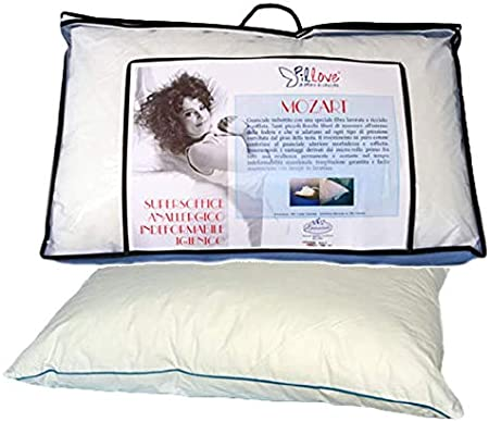 Pillove Cuscini.Pillove Il Guanciale Cuscino Mozart Imbottito In Microrollo