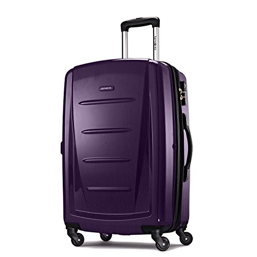 Samsonite  One Size Winfield 2 Fashion Spinner -  Purple - Tsa Locking Luggage Strap