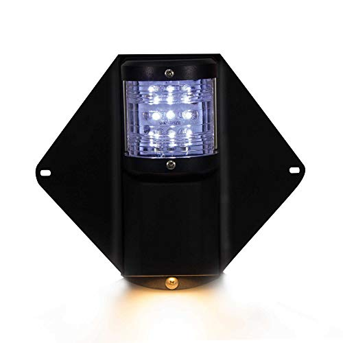 Five Oceans Masthead LED Deck Spreader Light Waterproof Vertical Mount Combination Navigation Lights FO-3837