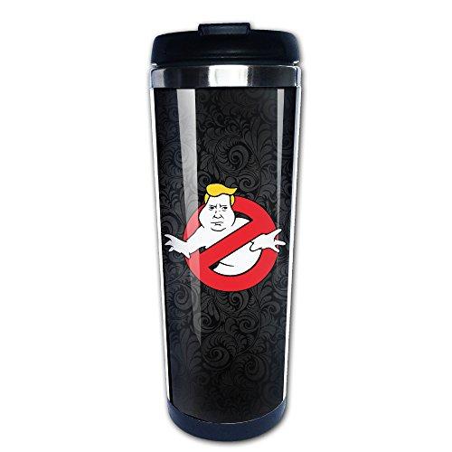 Dump Trump Busters Ghostbusters Coffee Mug, Coffee Travel Mug, Coffee Thermos, Thermos Coffee Travel Mug, Coffee Thermos Travel Stainless Steel Insulated Leak Proof Lid Easy Clean Press Mug 12 (oz)