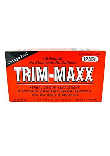 Maxx Trim (Trim-Maxx Orange Peel Herbal Dietary Supplement All Natural No Chemicals No Caffeine 30 Tea)