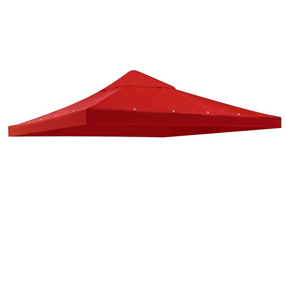 Yescom 1 Tier 9.76'x9.76' Gazebo Canopy Top Replacement Patio Cover Outdoor Garden Yard