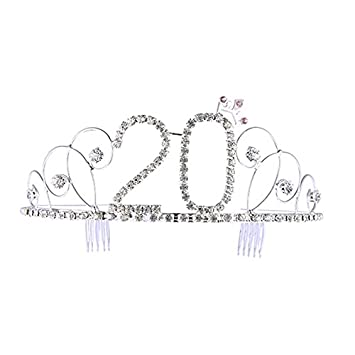 Frcolor No 20 Crystal Birthday Crown Girl Tiara Prinzessin Krone