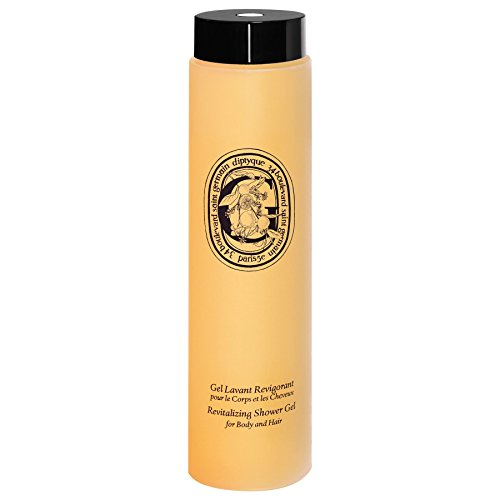 Diptyque Revitalising Shower Gel for Body and Hair 200ml - Pack of 6