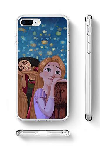 big sale 630f8 7362a Amazon.com: Disney Princess Inspired Phone Case Rapunzel Tangled ...