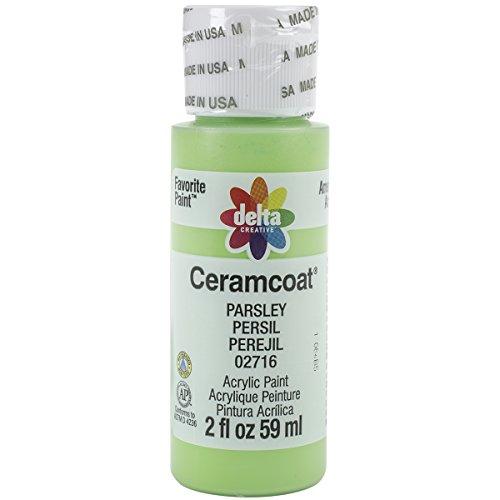 Delta Ceramcoat Acrylic Paint (Plaid:Delta Ceramcoat Acrylic Paint, 2 oz, Parsley)