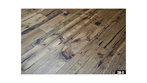 Sherry Wood Finish - American Hickory - Sherry - Engineered Hardwood - Lifetime Structural 50 Year Finish - Glue Down, Nail, Staple - CARB & Lacey Act Compliant - 1/2x3-7-1/2x82-5/8 RL