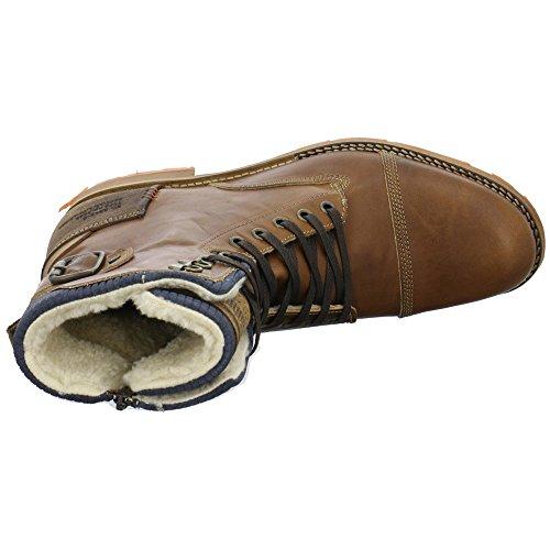 BULLBOXER 869k85850a - Botas de Piel para hombre Marrón
