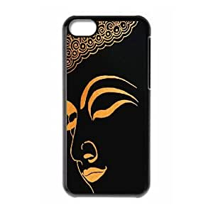 Customized iPhone 5C Case, Golden Buddha quote Cheap Cover Case