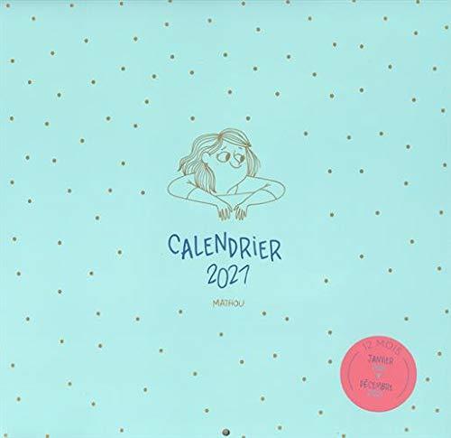 Amazon.fr   Calendrier mural Mathou 2021   MATHOU   Livres
