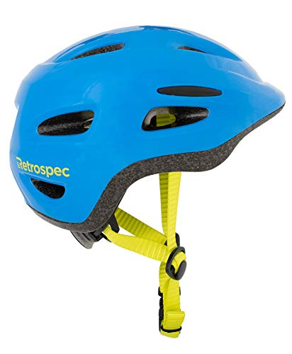 Retrospec Scout-1 Bike & Skate Helmet CPSC Approved Ages 1-10, Matte Royal Blue, XS 45-49cm
