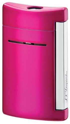 S.T. Dupont Minijet Fushia Buzz Torch Flame Lighter