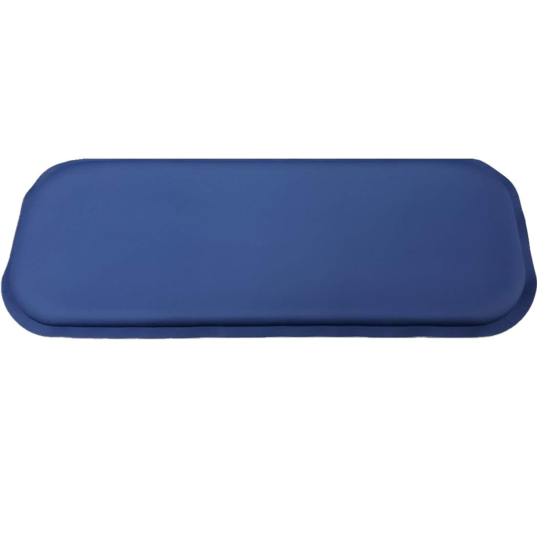 ULTRAGEL ''Gaming Super Comfy Arm/Elbow/Wrist Rest Gel Pad for Keyboards (Slim 5x12.5, Blue)