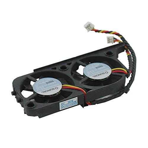 Series C840 Latitude (Generic New Laptop CPU Cooling Fan for Dell Inspiron 8000 8100 8200 2500 Latitude C800 C810 C840 Series DC5V 0.6W Replacement Part Number GM0503PEB1-8 GM0503PEB2-8 with Thermal Paste)