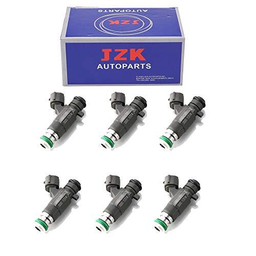JZK Fuel Injectors 6PCS/SET FBJC101 35-01325AN 16600AE060 16600-AE060 16600Ja000 16600-Ja000 4G1671 4G1862, 623-300, 630-308, M1020, FJ751 158-0907, 16-1116, M8 FOR MAXIMA INFINITI 4.5L 3.5L V6