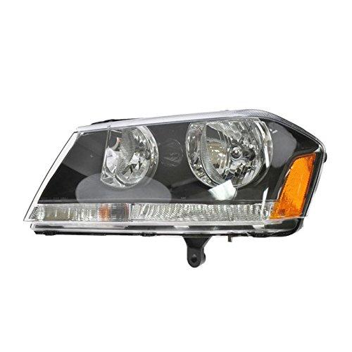 Headlight Headlamp Driver Side Left LH for 08-10 Dodge Avenger RT