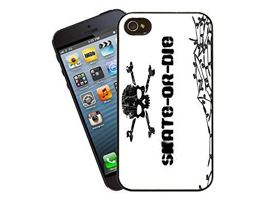 Skate oder Die iPhone Case - passen diese Abdeckung Apple Modell 5 und 5 s - von Eclipse-Geschenk-Ideen