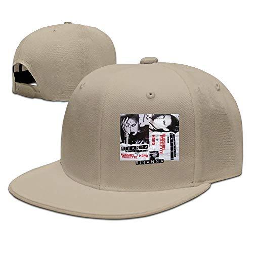 69ac242e3c7 Hughhd Kirkid Unisex Flat Adjustable Baseball Hat Funny-Rihanna-Rated-R-GILR