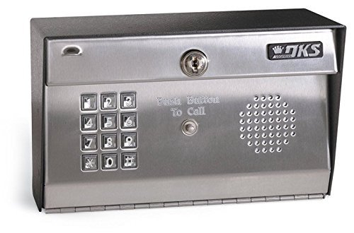 Doorking 1812-089 Residential Hands Free Telephone Entry Access Control System (Plus), Surface Mount