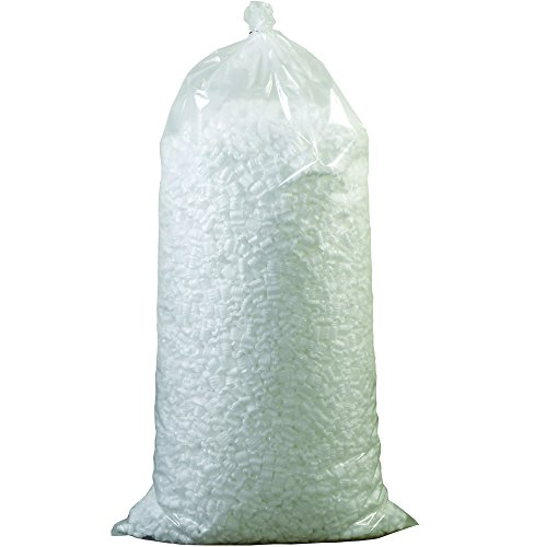 Partners Brand P7NUTS Loose Fill Packing Peanuts, 7 Cubic Feet, White