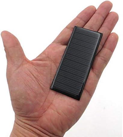 Z.L.FFLZ Mini Solar-Panel Solarzellen-Minisonnensystem DIY for Rührteig Phone Charger Polykristalline Panel-Modul-System 5.5V 0.38W 70mA