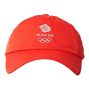 21540bba adidas Unisex Team GB Replica Climachill Baseball Sports Cap Hat - Red