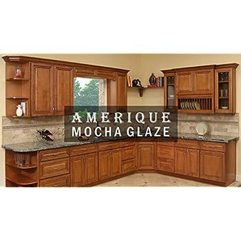 amazon com amerique 691322309393 luxury mocha glaze vanity cabinet rh amazon com Making Cabinet Face Frames Cabinet Face Frame Sizes