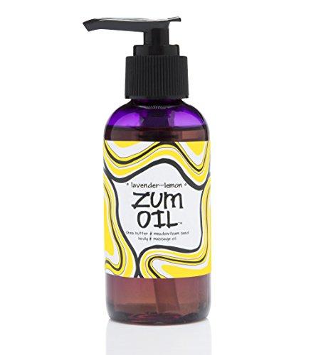 Indigo Wild Zum Massage Oil, Lavender Lemon, 4 Fluid Ounce by Indigo Wild
