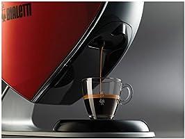 Bialetti Cuore CF80 - Cafetera de color rojo y negro, para café ...