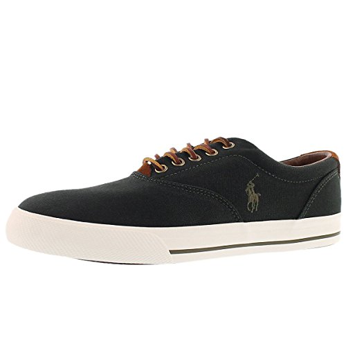 Polo Di Ralph Lauren Mens Vaughn Lace-up Fashion Sneaker Verde