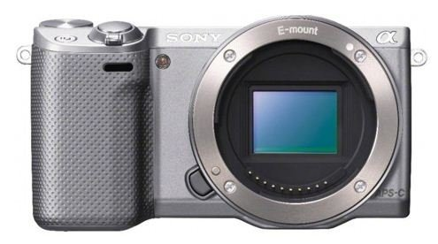 Sony NEX-5R/S 16.1 MP Compact Interchangeable Lens Digital Camera with 3-Inch LCD – Body Only (Silver)