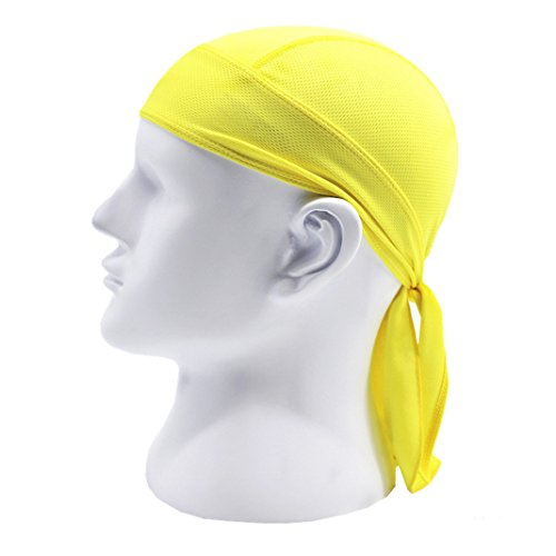 Halloween Prop Hats, Rosa Schleife Breathable Quick Dry Head Scarf Pirate Costumes Hat Bandanna Cap Pure Color for Men's Cycling Climbing Sport Outdoor Headbands