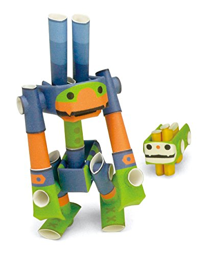PIPEROID Antonio & Syrup Paper Craft Robot kit from Japan - Fitness Conscious Ant & His Pet ()
