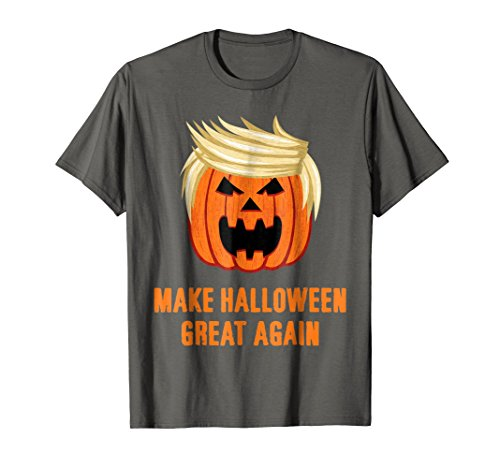 Make Halloween Great Again Funny Trumpkin T-Shirt