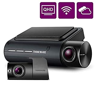 THINKWARE Q800PRO Dual Dash Cam Front and Rear Camera for Cars, 1440P, Dashboard Camera Recorder with G-Sensor, Car Camera w/Sony Sensor, Parking Mode, WiFi, GPS, Night Vision, Loop Recording, 32GB (B07RLPWZX3) | Amazon price tracker / tracking, Amazon price history charts, Amazon price watches, Amazon price drop alerts