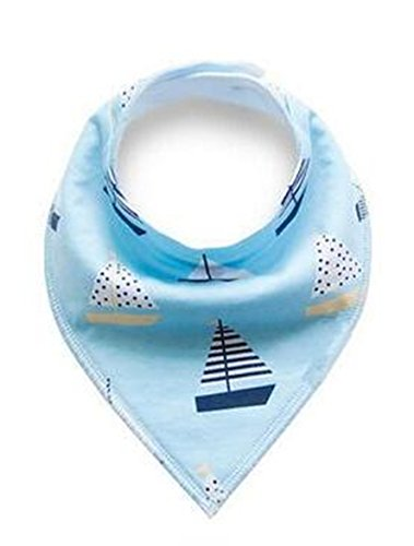 Baby Bandana and Bibs for Boys and for Girls (Set of 4, Gift Set) - Best for Babies Drooling (watermelon)