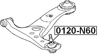 Ball Joint Front Lower Arm For Toyota 4806929265