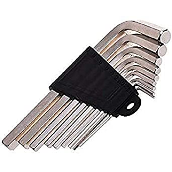 GSK Allen/Hex Key Set of 9 Pieces - from 1.5 to10 mm