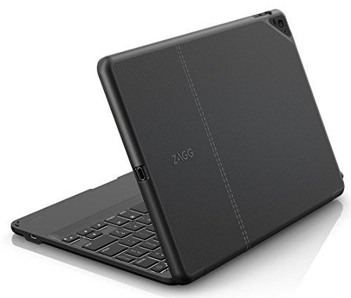 ZAGG Folio Case, Hinged with Bluetooth Keyboard for Apple iPad Pro 9.7 - Black