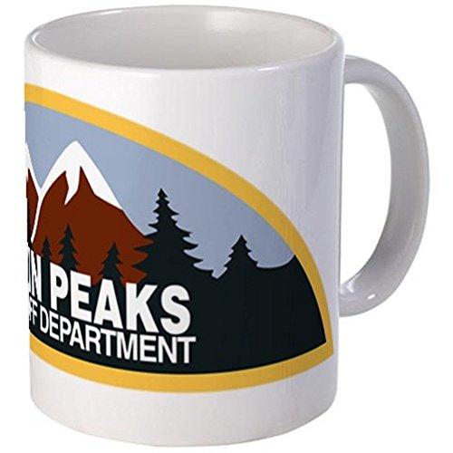 "11 ounce Mug - Twin Peaks Sheriff Department Mug - S White """