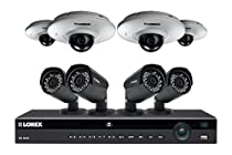 Lorex 2K home security system featuring Color Night Vision and audio