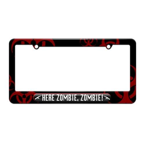 license plate frame biohazard - 8