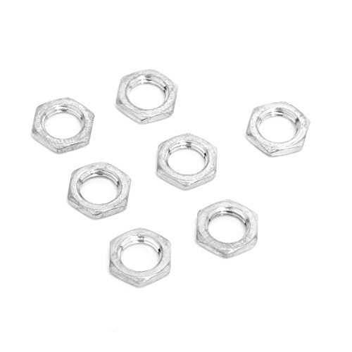 (Musiclily 7MM Guitar Bass Pots Potentiometer Hex Nut for Fender Replacement(Pack of 10) )
