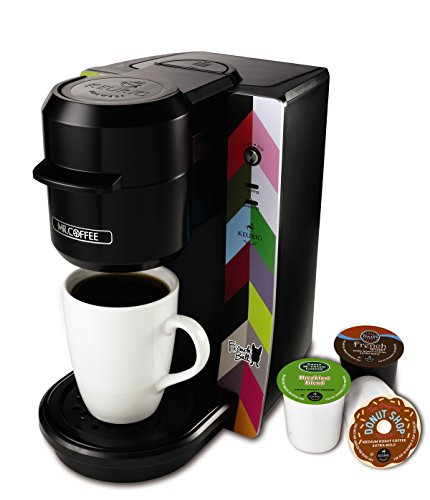 Mr. Coffee BVMC-KG2FB Single Serve Coffee Maker, French Bull Design, Multicolored (K Cup Coffee Makers Mr Coffee compare prices)