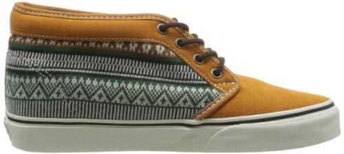 Vans U Chukka 79 - Zapatillas de Deporte de cuero nobuck Unisex Amarillo (Gelb)