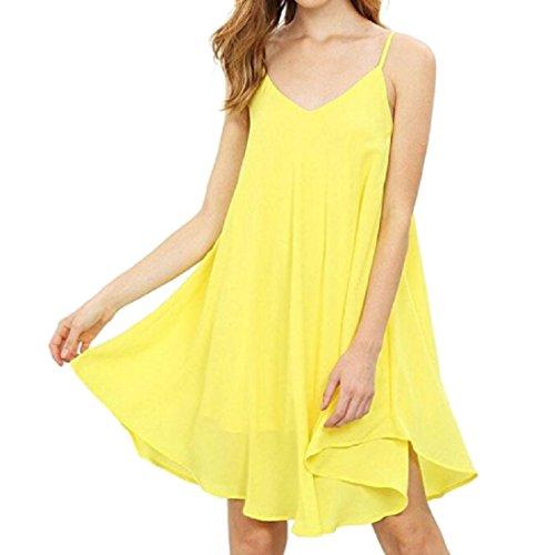 Maglia Dalla Chiffon Molti Disponibili Increspato Giallo Coolred donne In Vestiti Colori Xx17IZBwqf